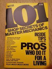 VTG 1974 Motor Magazine 101 Shop Secrets of Master Mechanics Inside Tips Book