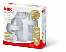 NUK Nature Sense Gift Set - The BEST NUK Baby Bottle Ever - 0-18 Months