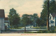 A Quiet Day On Main Street, West Campton, New Hampshire NH 1909