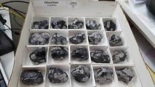1 Medium Natural Snowflake Obsidian Chunk