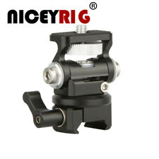 NICEYRIG DSLR Monitor Holder Mount with NATO Lock Clamp for Camera Field Monitor