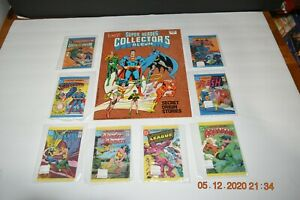SUPER HEROES COLLECTOR'S ALBUM LEAF DC COMICS SECRET ORIGINS 1981 COMPLETE NRMT