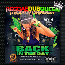 Back In The Dayz Vol 4, Late 90s to 2k Dancehall Mixtape. Reggae Mix CD.
