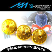 Gold Racing Windscreen PUIG Bolts Kit For Ducati Multistrada 1200 2010-15