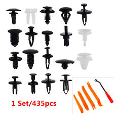 435pcs Plastic Clip Car Body Retainer Tool Push Pin Trim Rivet Panel Moulding