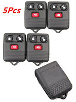 5 Keyless Entry Remote Control Car Key Fob Clicker Transmitter Replacement Ford