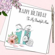 Personalised Tiffany Birthday Card Female Mother Daughter Friend Sister 18th 21s