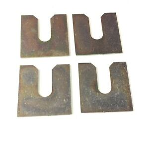 CLASSIC MINI FRONT SUBFRAME PEAR MOUNT PACKING SPACER x4 2A4292 ROVER AUSTIN 7K5