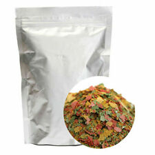 100g FRESH G01468 Tropical Cichlid Flake Food Fish Flakes Bulk Aquarium Pon B9D9