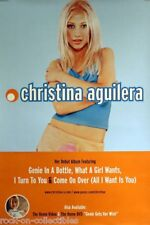 "Christina Aguilera ""Genie,What Girl Wants, Turn To You""2-Sided U.S. Promo Poster"