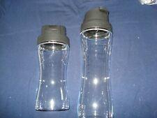 Tupperware Clear Collection Essig & Öl Behälter 550 + 750 ml schwarz neu&OVP RAR