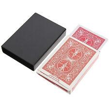 Vanishing Card Case Disappearing Poker Case Close Up Magic Trick Box Props HU