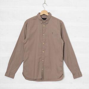 All Saints London Men's S Redonda Long Sleeve Shirt