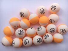 Table Tennis Ball Dual Colour - Kingnik 2* - Pack Of 24 Spin Balls - Uk Stock