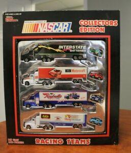 Racing Champions 1991 NASCAR Collector's Edition Racing Teams Haulers Set