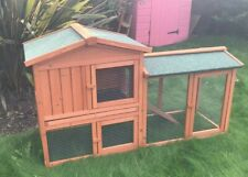 Rabbit Hutch 148cm Guinea Pig Hutches Run Rabbit Ferret Runs