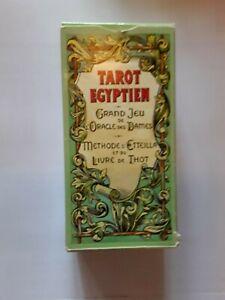 Tarot Egyptien Grand Jeu De L'oracle Des Dames - 78 Cartes - Complet avec notice