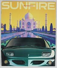 Pontiac 1998 Sunfire Sales Brochure / Literature