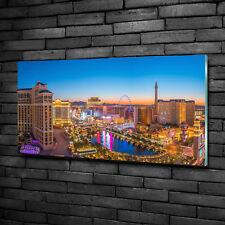 Glas-Bild Wandbilder Druck auf Glas 100x50 Deko Sehenswürdigkeiten Las Vegas USA