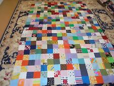 Nice Pieced Granny Square Quilt Top--This is a TOP ONLY