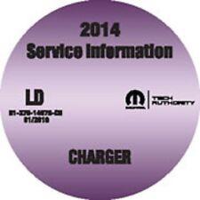 2014 Dodge Charger Service Workshop Repair Shop Manual CD-ROM 8127014078CD