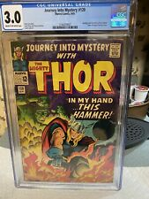 JOURNEY INTO MYSTERY #120 CGC 3.0 ..UNRESTORED....With My HAMMER In Hand...!