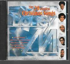 CD ALBUM 16 TITRES--BONEY M--THE 20 GREATEST CHRISTMAS SONGS--1986