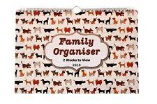 Calendar/Calender 2018 ~ FAMILY ORGANISER/PLANNER ~ Two Week to View ST-6782