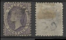 No: 76763 - ST LUCIA - A VERY OLD & INTERESTING STAMP - USED!!