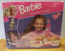 1992 Barbie Glitter fashion maker paper doll kit new wrapped in original box
