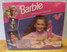 1992 Barbie Glitter fashion maker paper doll kit new wrapped in original box