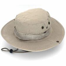 Cotton Bucket Boonie Hat Mens Ladies Festival Fishing Bush Sun Beach Summer Cap