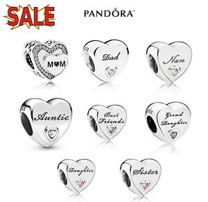SALE PANDORA MOMENTS DAUGHTER WIFE DAD MUM GRANDDAUGHTER AUNTIE NAN FRIEND CHARM
