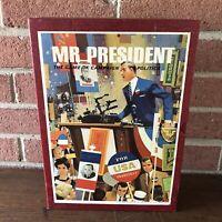 Vintage 1967 Mr. President 3M Bookshelf Game of Campaign Politics