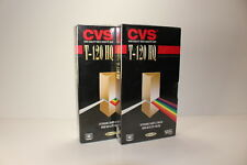 CVS Video Cassettes T-120 HQ High Quality Tapes New Unopened