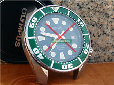 Colore Verde Lunetta Ricambio Inserto per Scuba SBDC 001 003 Sumo pezzi di ricambio 0512
