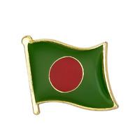 BANGLADESH FLAG Enamel Pin Badge Lapel Brooch Fashion Gift PN51