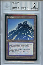 MTG Ice Age Land Cap BGS 9.0 (9) Mint Magic Card with 10 centering WOTC 0052