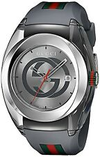 Gucci Sync YA 137109 Swiss Quartz Stainless Steel and Rubber Casual Grey Watch