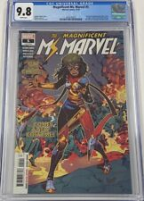 Magnificent Ms Marvel #5 Secret Wars #8 Cover Homage 1st New Costume CGC 9.8