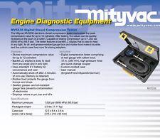 Mityvac MV5536 Digital Diesel Compression Tester Engine Diagnostic Equipment