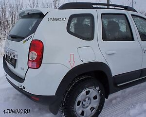 2010-2015 Dacia Renault Duster Protector Wide Fender Flares Arch Body Kit 8 pcs.