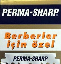 100 PIECES PERMA SHARP PROFESSIONAL SINGLE EDGE RAZOR BLADES - 1 PACK of 100 pcs