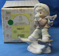 Precious Moments Figurine 524905 ln box It's So Uplifting to Have a Friend Like