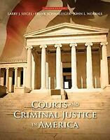 Courts and Criminal Justice in America Paperback Frank J. Schmalleger