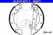 ATE Bremsbackensatz 03.0137-0271.2 229mm hinten für RENAULT 21 25 ESPACE 2 20 16