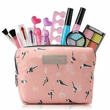 Toys for 3 4 5 6 7 Year Old Girls Kids Makeup Kit for Girl with Cosmetic Bag