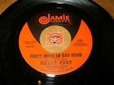 DUANE EDDY - FORTY MILES OF BAD ROAD - THE QUIET THREE / LISTEN - ROCK