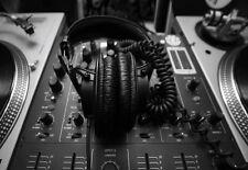 TWIN Deck DJ Mixer RECORD DECK A3 Stampa Artistica Poster