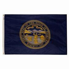 5x8 ft NEBRASKA The Cornhusker State OFFICIAL STATE FLAG Outdoor Nylon USA MAde